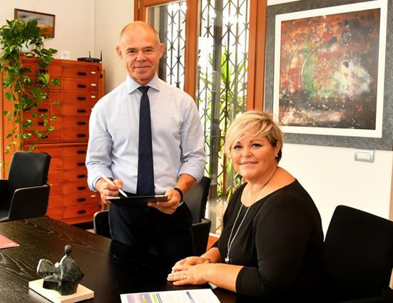 Pino Scotton lascia il timone dell'azienda ai figli Lara e Carlo